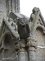 Dol-de-Bretagne (35) Cathédrale Grand porche 11.JPG