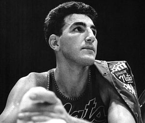 History of the Philadelphia 76ers - Dolph Schayes joined the Syracuse Nationals in 1948 and played with them until their relocation to Philadelphia following the 1962–63 season. He retired in 1964 after playing 1,059 games for the franchise.
