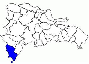 Pedernales Province - Image: Dom Rep Pedernales