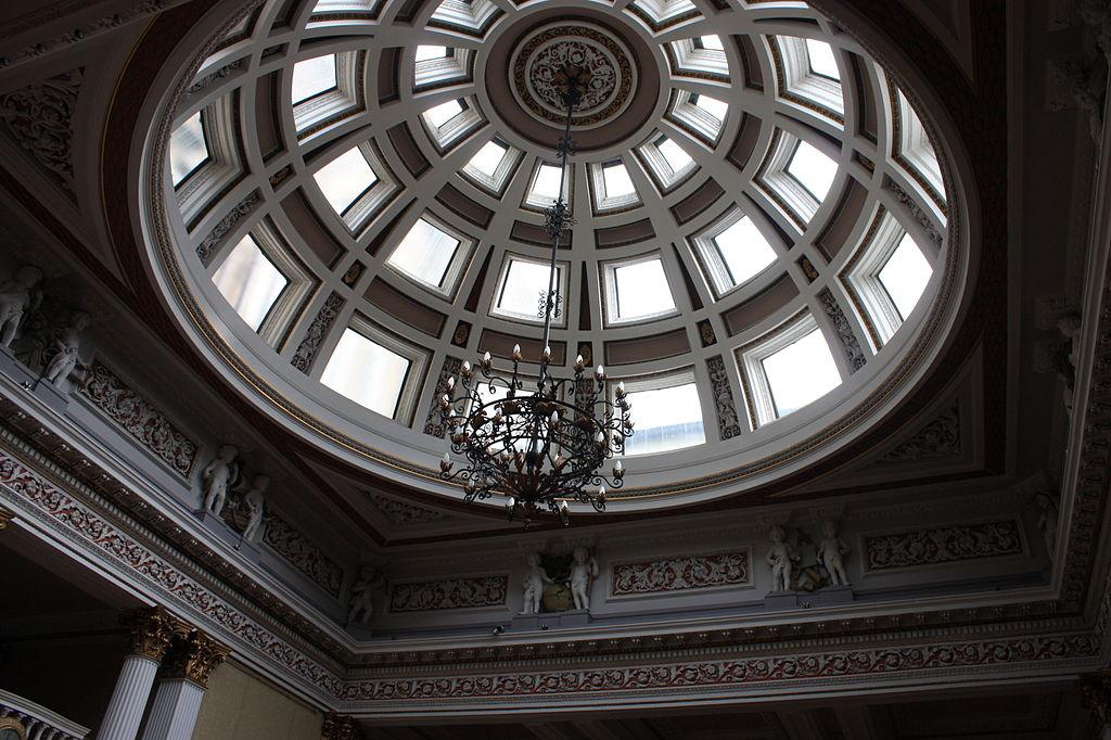 Dome of the Merchant Hall Edinburgh
