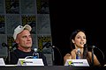 Dominic Purcell and Tala Ashe, Legends of Tomorrow panel at SDCC (1).jpg