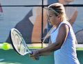 Dominika Cibulkova Backhand.jpg