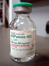 Dopamine HCl preparation, single dose vial for intravenous administration.
