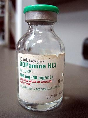 Dopamine - Image: Dopamine H Cl