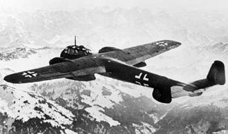 Dornier Do 215 - Dornier Do 215 in flight