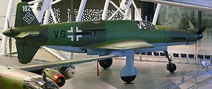 Heavy fighter - The sole surviving Do 335 heavy fighter, arguably Germany's best heavy fighter design.