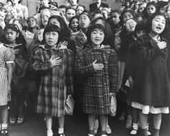 Dorothea Lange pledge of allegiance.jpg