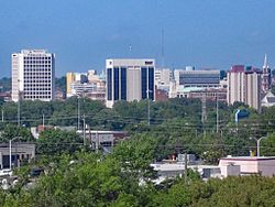 Downtown Macon in 2007