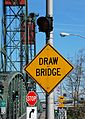 Drawbridge sign at west end of Hawthorne Bridge.jpg