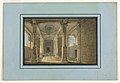 Drawing, Stage Design, Entrance to an Oriental Temple, 1815 (CH 18542973).jpg