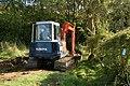 Dredging a ditch near Staverton - geograph.org.uk - 1416322.jpg