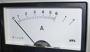 Schema Elettrico Voltmetro Per Auto : Amperometro wikipedia