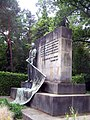 Dresden Garnisonfriedhof Bronzeplastik Rogge 2.JPG