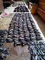 Dried fish in a line, Zomba Malawi.jpg