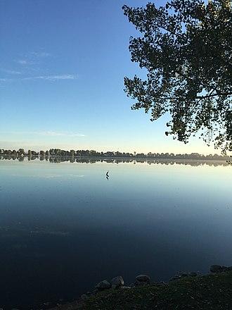 Duck Lake (Blue Earth County, Minnesota) - Image: Duck Lake, Blue Earth County, MN, USA