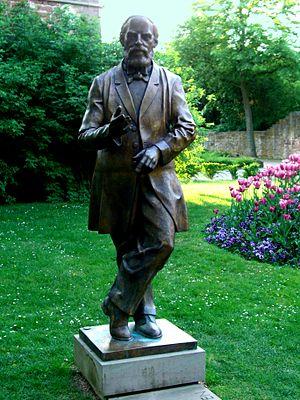 Konrad Duden - Statue of Konrad Duden.