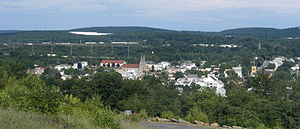 Dupont, Pennsylvania - Dupont from Pittston Township