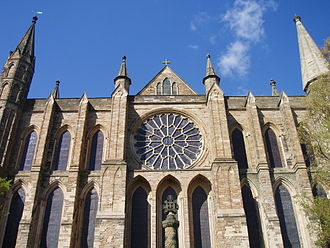 Stephen Kemble - Kemble's Burial Place: Chapel of Nine Alters, Durham Cathedral