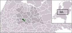 Location of IJsselstein