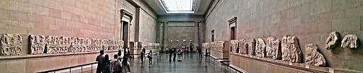 Duveen Gallery - Parthenon marbles from the Acropolis of Athens - British Museum