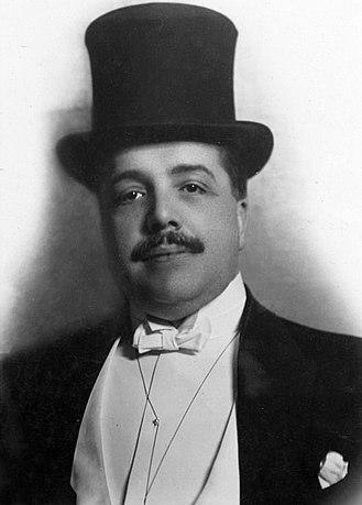 Сергей Дягилев, 1910 год.