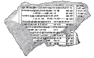 Babylon - Illustration by Leonard William King of fragment K. 8532, a part of the Dynastic Chronicle listing rulers of Babylon grouped by dyansty.