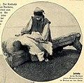 E. Pfitzenmayer, Sibirische Rauchwaren (1908) Jakutin beim Gerben eines Rentierfelles in Bulun an der Lena.jpg
