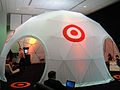 E3 2011 - outside the Target Lounge dome (5822110251).jpg