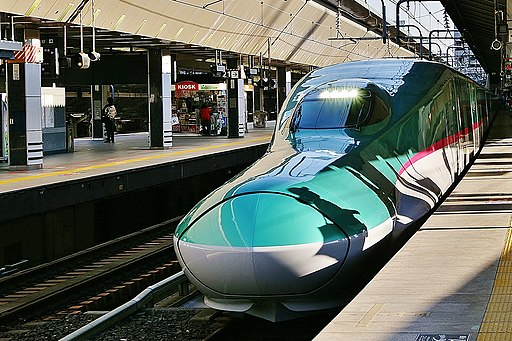 E5 Shinkansen Tokyo