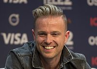 Nicky Byrne beim Eurovision Song Contest, Mai 2016