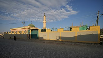 Islam in Ethiopia - A mosque in Mekelle.