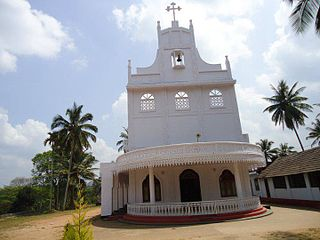 St. Marys Church, Meenangadi Church in Kerala, India