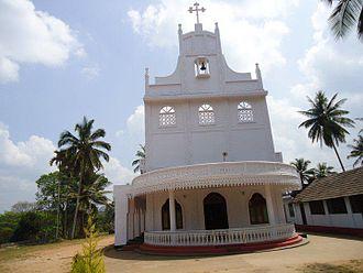 St. Mary's Church, Meenangadi - Image: Eaechurch 3