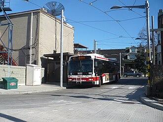 Toronto streetcar system loops - Earlscourt Loop