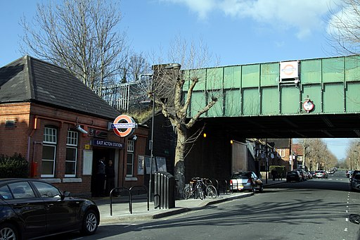 East Acton tube station in London, spring 2013 (1)