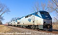 Eastbound Talgo Special in Shawnee, Kansas (2), February 2018.jpg