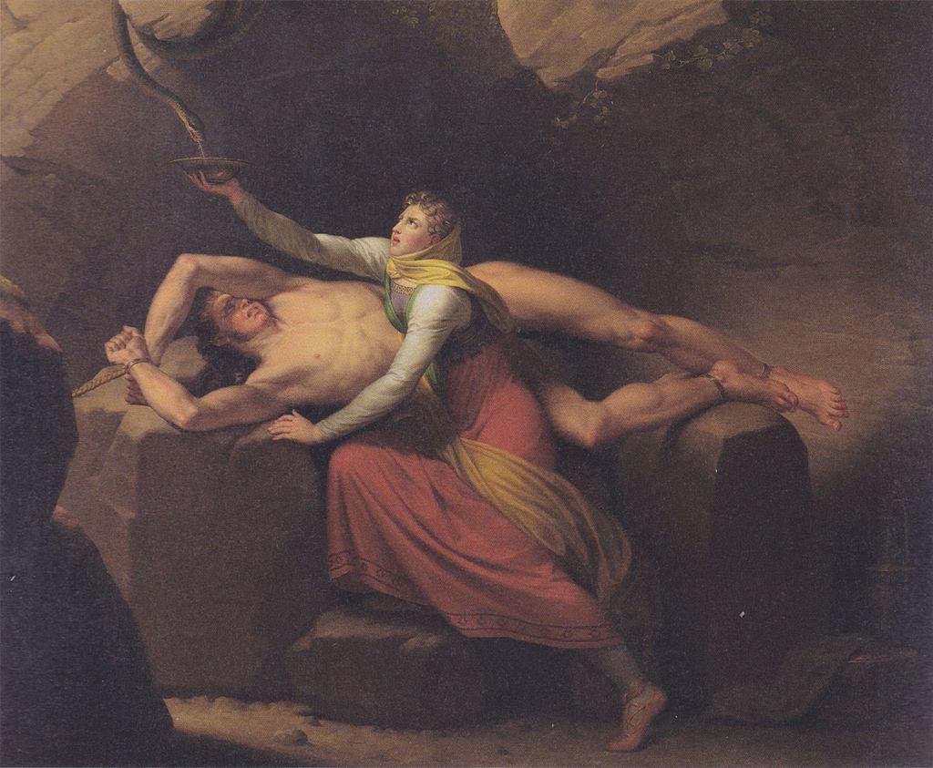 Eckersberg, CW - Loke og Sigyn - 1810.jpg
