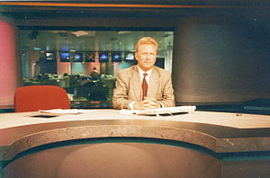 CNBC Europe - European Business News TV (EBN) with Ed Mitchell, London, in 1996.