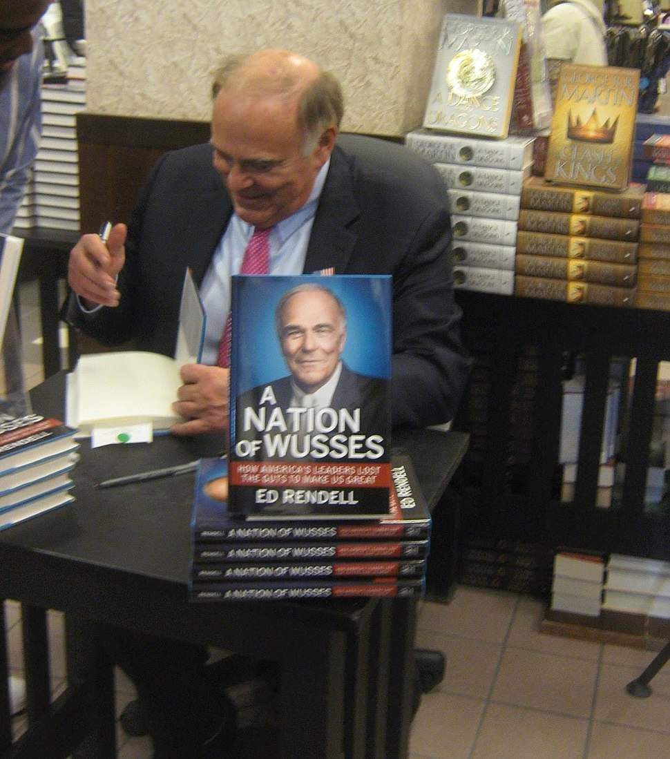 Ed Rendell book signing