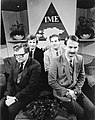 Edgar Savisaar, Mikk Titma, Tiit Made ja Siim Kallas ETV saates 1988, foto Harald Leppikson.jpg