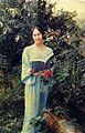 """Edna Mittwoch-Meller reading from her poetry book """"Mila Khama"""", 1978.jpg"""