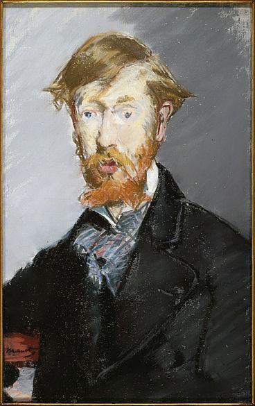 Édouard Manet. Portrait of George Moore.
