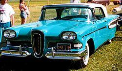 Edsel Citation Convertible 1958