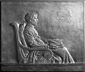 Edward MacDowell - Bronze relief of MacDowell by Helen Farnsworth Mears (1906, cast 1907) Brooklyn Museum