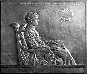 Edward MacDowell - Bronze relief of MacDowell by Helen Farnsworth Mears (1906, cast 1907) Brooklyn Museum