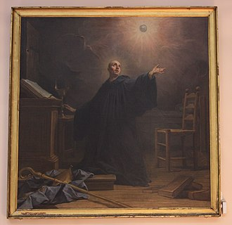 Bourg-la-Reine - Image: Eglise Bourg La Reine Painting 5