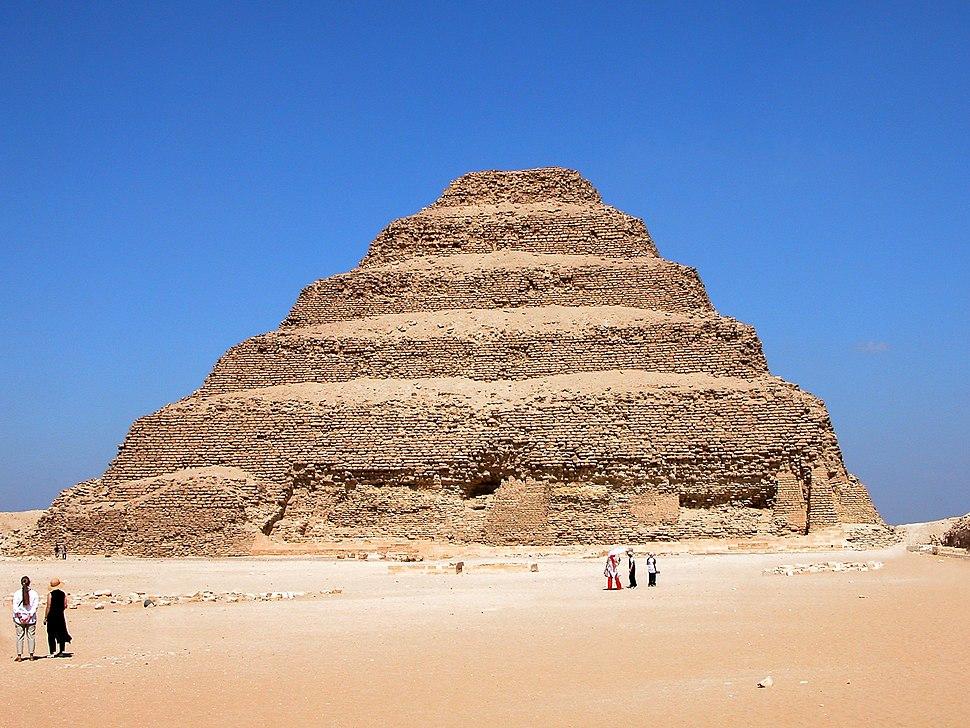 Egypt-12B-021 - Step Pyramid of Djoser
