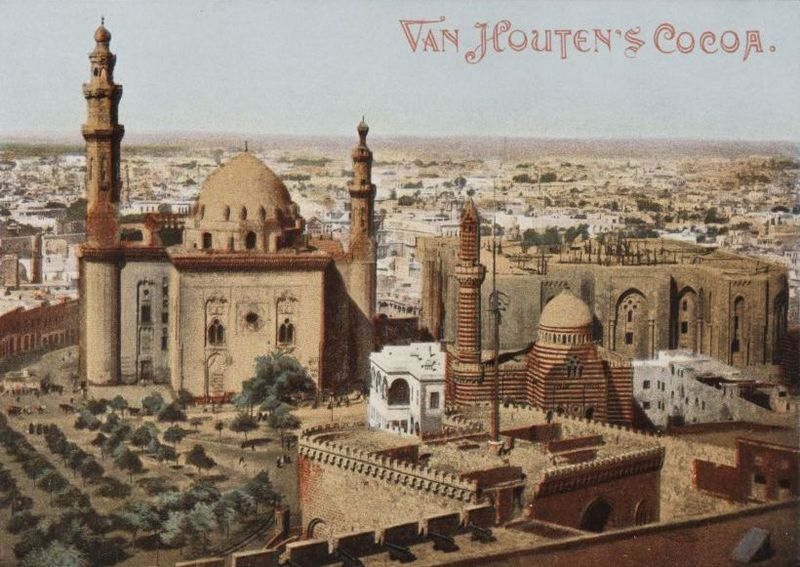 File:Egypt. Cairo. The Sultan Hassan Mosque (n.d.) - front - TIMEA.jpg