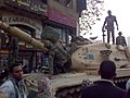 Egyptian Army M60 tank in Tahrir Square.jpg