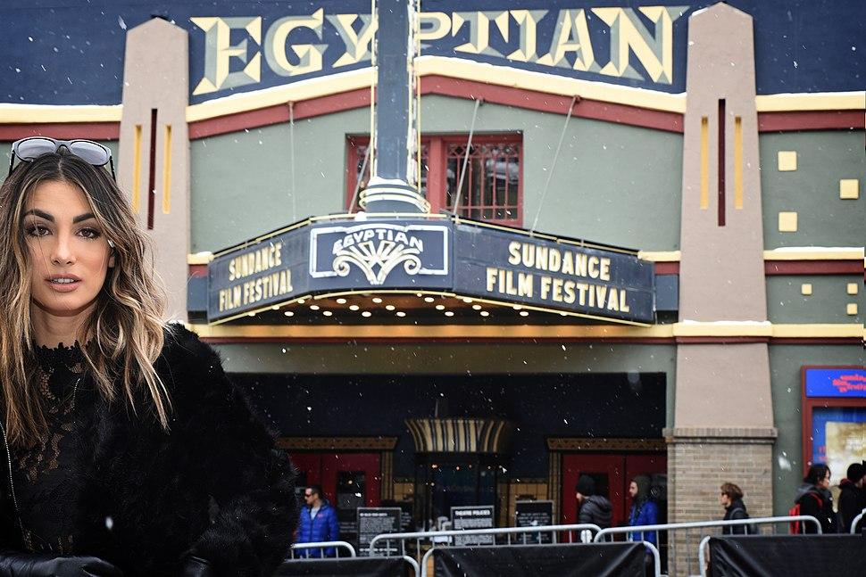 Egyptian Theater during Sundance